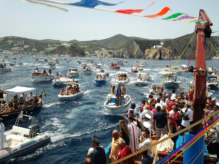 s silvero processione barche