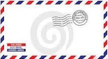 busta posta aerea
