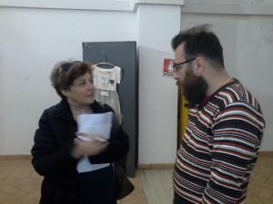 Murat Onol durante l'intervista