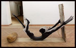 Bevo parole salate mentre guardo uno specchio di mare - Ponza, Museo-marzo 2014