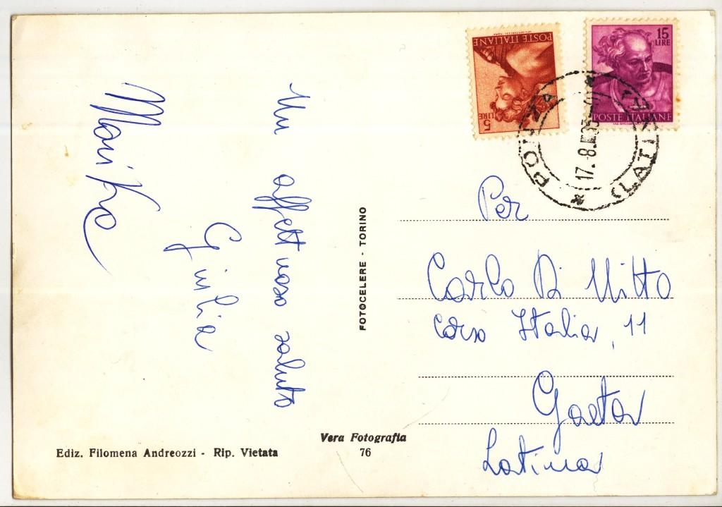 Retro cartolina Ponza-1