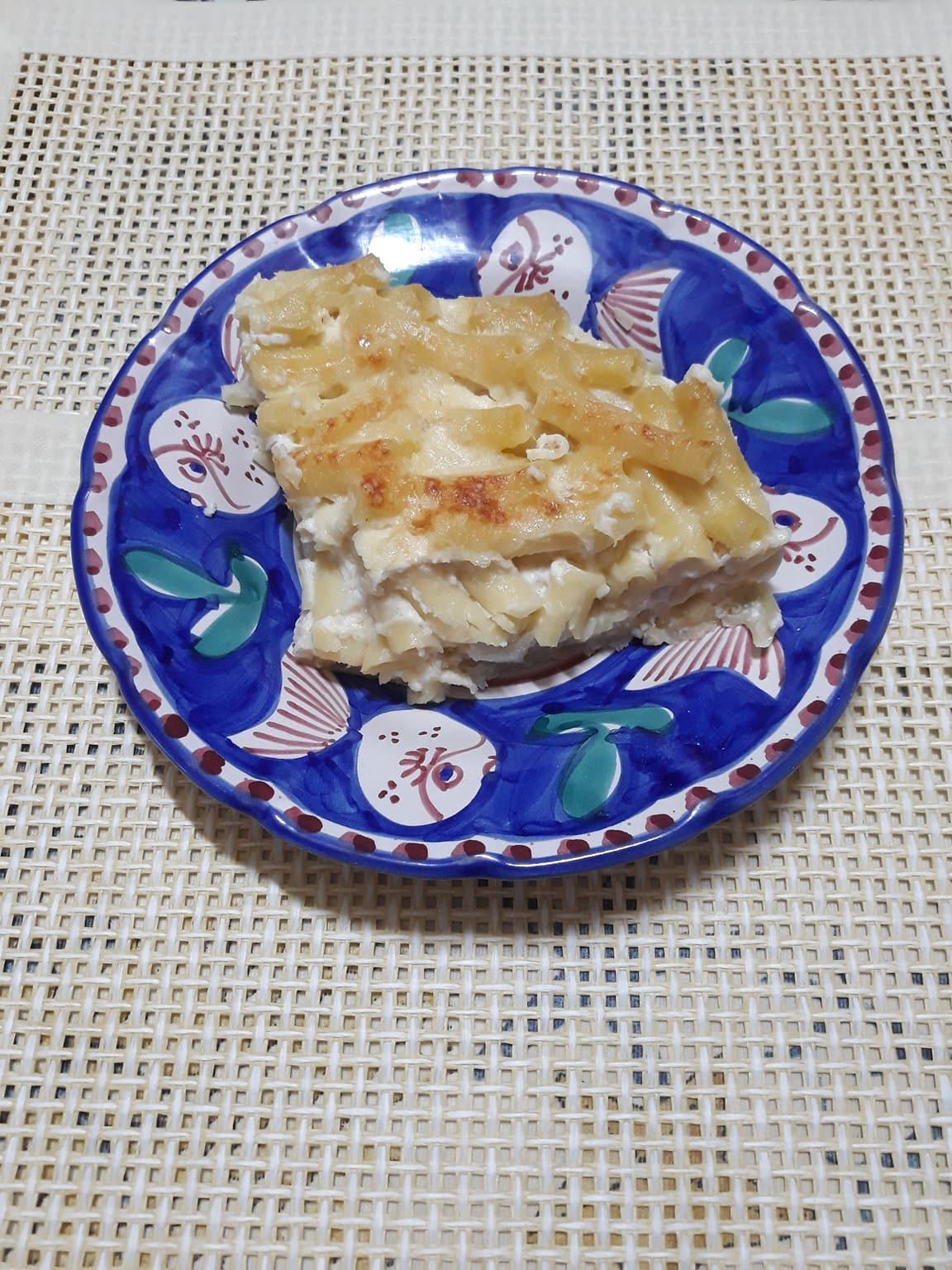 Le ricette di Rosalba : Maccheroni al graten