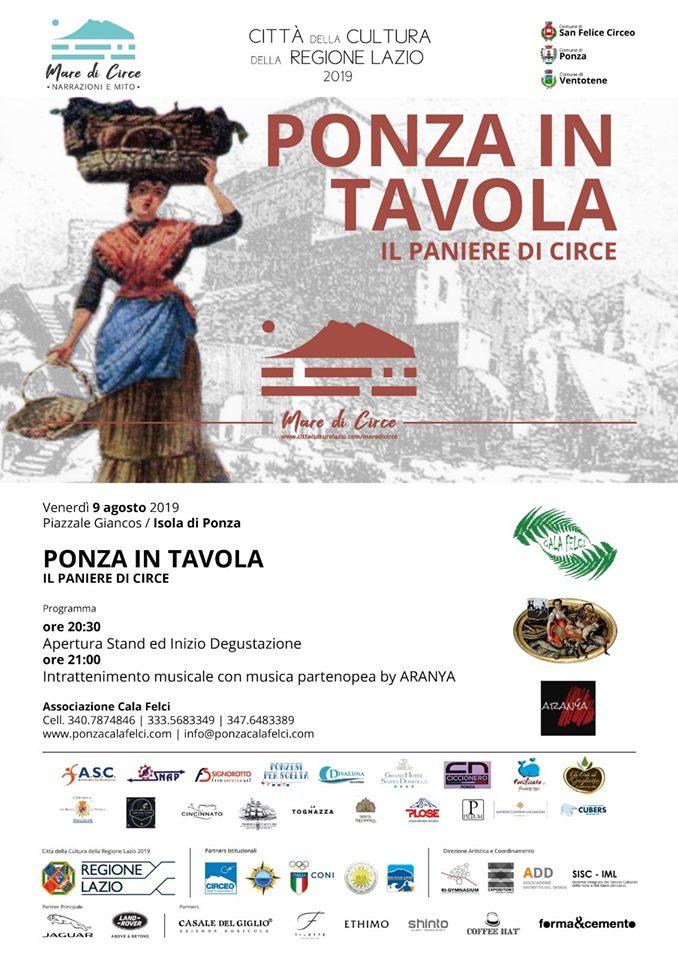 "TG3 parla di ""Ponza in Tavola"" – Ed. 2019"