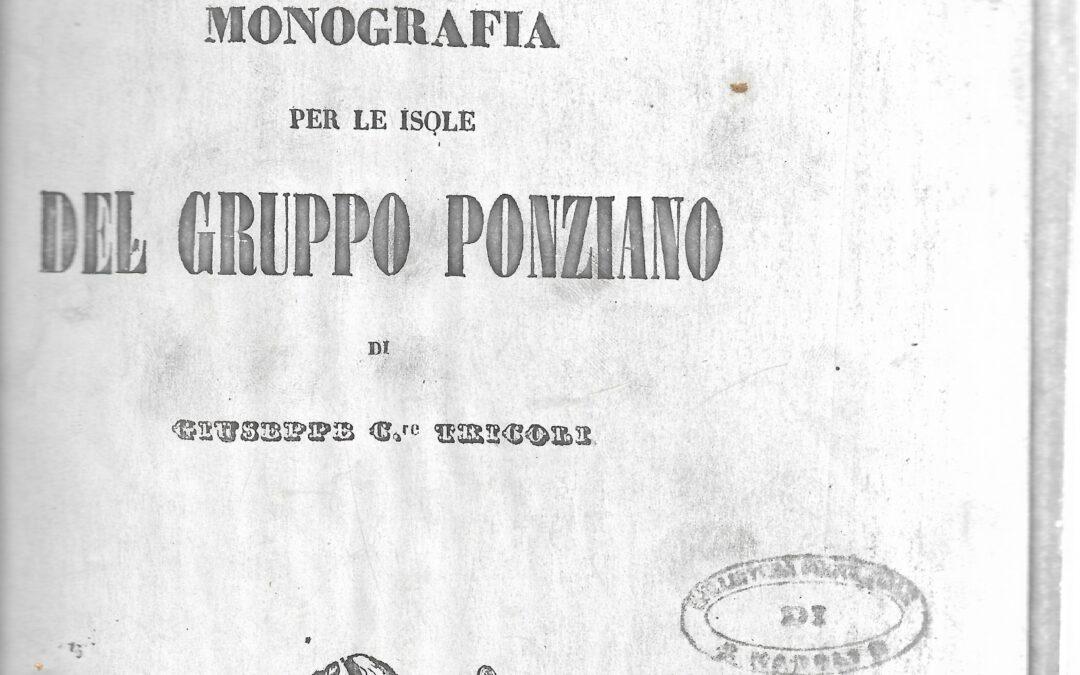 Giuseppe Tricoli: biografia dell'autore basilare nella storiografia ponziana
